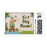 Laguna TURTLE Baby Shower invitation Postage LTC