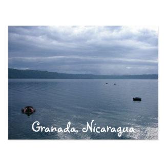 Laguna vidriosa de Appoyo, Granada, Nicaragua Tarjetas Postales