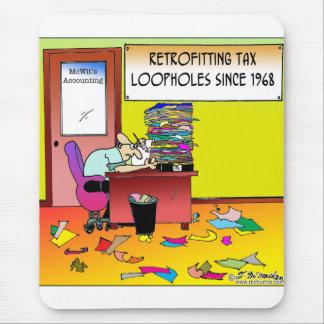 Lagunas tributarias de la retroadaptación tapete de ratón