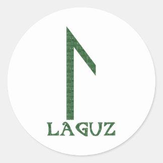 Laguz Classic Round Sticker
