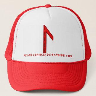 Laguz Rune red Trucker Hat
