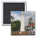 Lahaina Lighthouse 2 Inch Square Magnet
