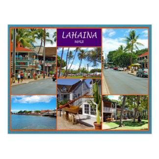 Lahaina Maui Tarjeta Postal