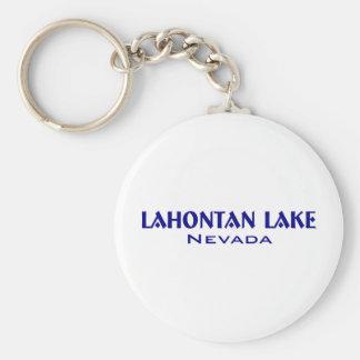 Lahanton Lake Nevada Basic Round Button Keychain