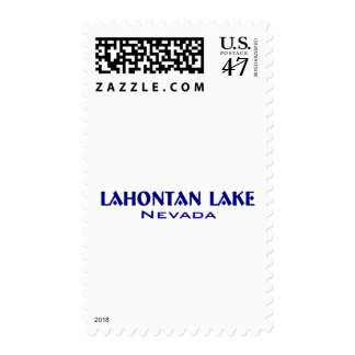 Lahanton Lake Nevada Postage
