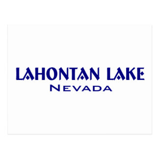 Lahanton Lake Nevada Postcard