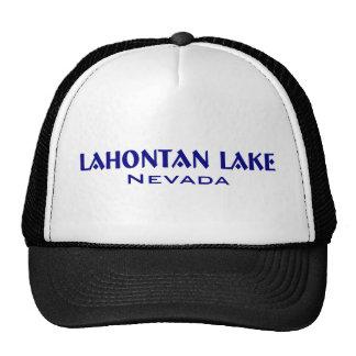 Lahanton Lake Nevada Trucker Hats