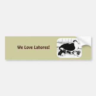 Lahores 1980 bumper sticker
