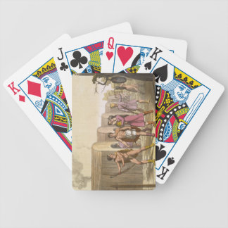 Lahoutan Indians, Canada (colour engraving) Bicycle Playing Cards