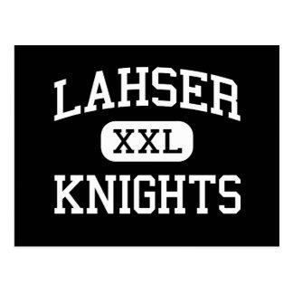Lahser - Knights - High - Bloomfield Hills Postcard