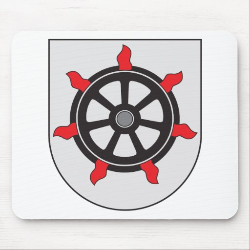 Lahti Coat of Arms Mouse Pad