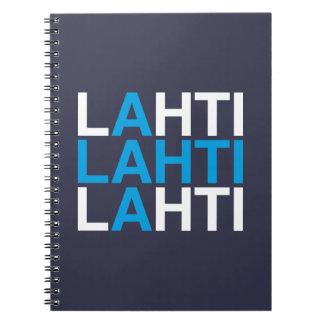 LAHTI SPIRAL NOTEBOOK