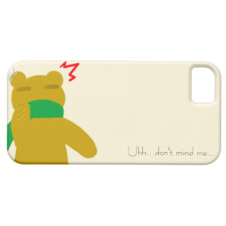 Laid back Bear iPhone 5/5S, Barely There iPhone SE/5/5s Case