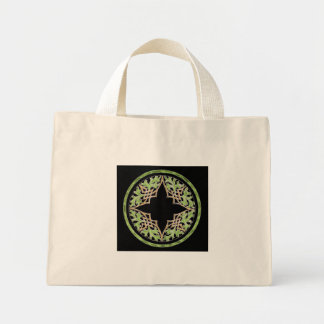 Laid back brown and green ornament bag