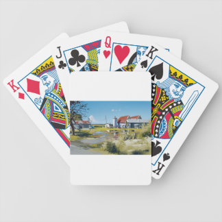 Laid Back Day Bicycle Playing Cards