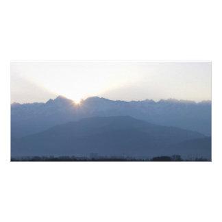 Laid down Grenoble-native sun Card