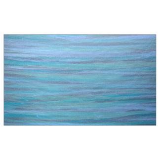 Laidback Turquoise Purple Teal Aqua Blue Water Fabric