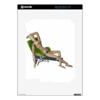 LaidBackInChair080214 copy.png Calcomanía Para El iPad 2