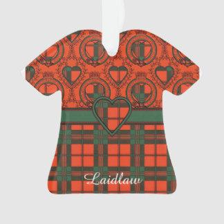 Laidlaw clan Plaid Scottish kilt tartan Ornament