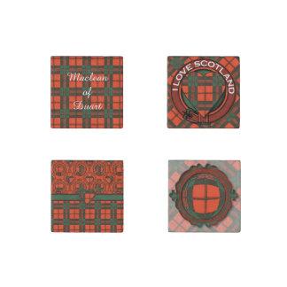 Laidlaw clan Plaid Scottish kilt tartan Stone Magnet