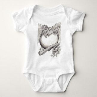 Laidly Worm BW Baby Bodysuit