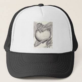 Laidly Worm BW Trucker Hat