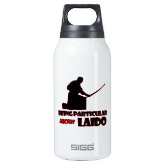 laido Designs 10 Oz Insulated SIGG Thermos Water Bottle