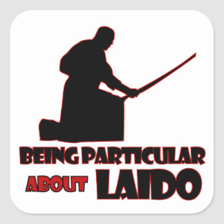 laido Designs Square Sticker