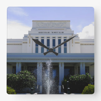 Laie, Hawaii Mormon Temple Square Wall Clock