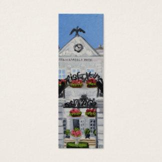 L'Aigle Noir:Fontainebleau France Skinny Bookmark Mini Business Card