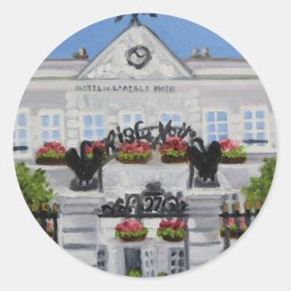 L'Aigle Noir Hotel:Fontainebleau FRANCE sticker