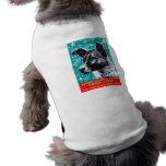 Laika 1957 el perro del espacio camiseta de perro