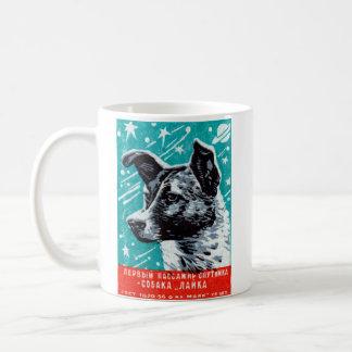 Laika 1957 el perro del espacio taza