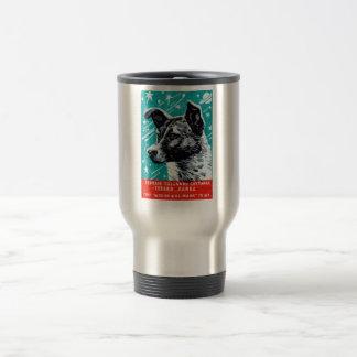 Laika 1957 el perro del espacio taza térmica
