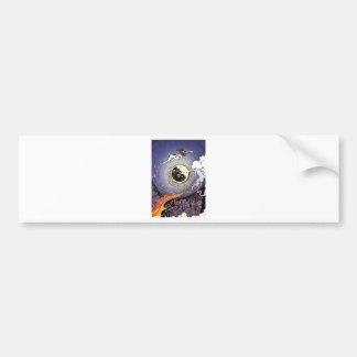 laika bumper sticker