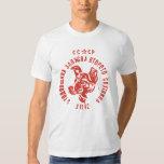 Laika - camiseta soviética del perro CCCP del Camisas
