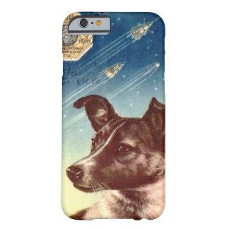 Laika el caso ruso del iPhone 6 del perro del Funda Barely There iPhone 6