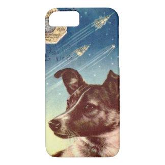 Laika el caso ruso del iPhone 7 del perro del Funda iPhone 7
