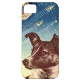 Laika el iphone ruso 5 del perro del espacio iPhone 5 Case-Mate protector