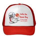 laika el perro del espacio gorra