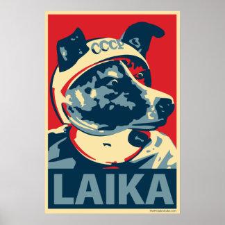 Laika el perro del espacio - Laika: Poster de OHP