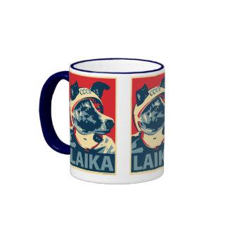 Laika el perro del espacio - Laika: Taza de OHP
