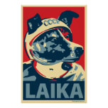 Laika el perro del espacio: Poster de la parodia d
