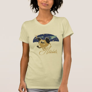 Laika first dog in space t shirt