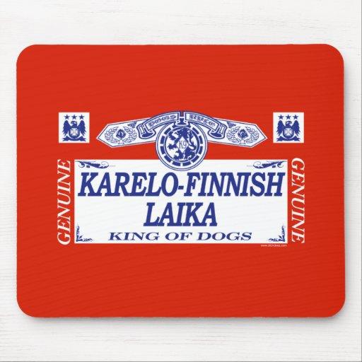 Laika Karelo-Finlandés Alfombrillas De Ratones