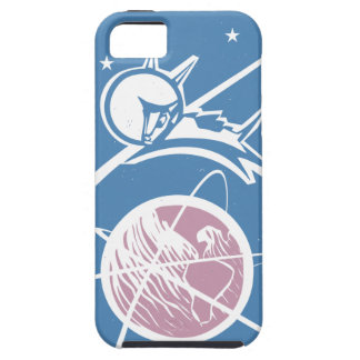 Laika over Earth iPhone 5 Cover
