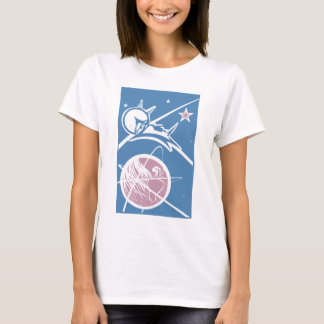 Laika over Earth T-Shirt