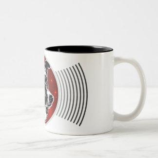 Laika - receptáculo de la transmisión del perro de tazas de café