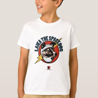 Laika The Space Dog: Kids T-Shirt