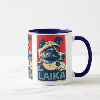Laika The Space Dog - Laika: OHP Mug
